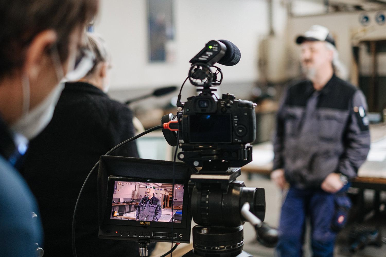 Making of Videoproduktion Jobcenter Düren