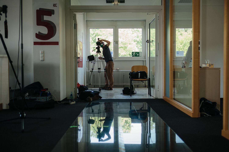Making of Videoproduktion Jobcenter Hanau