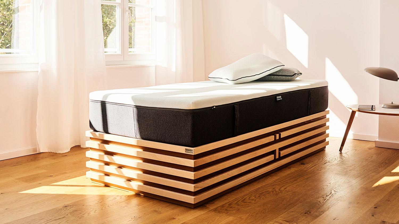 Stylischen Bettkonstruktion Matratzenpodest für die Auflage einer Matratze