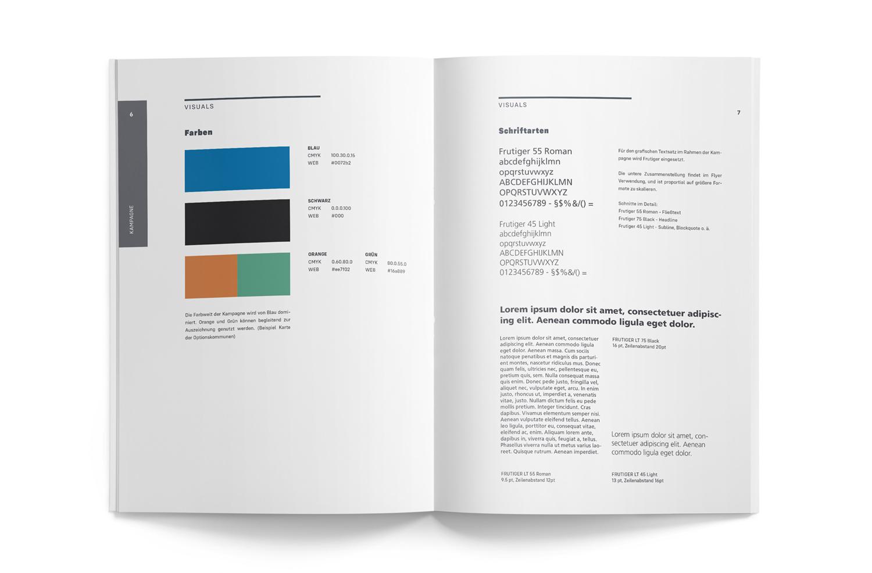 CD Book Farben Schriften