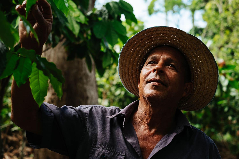 Baracoa Kakao Farmer auf Kuba