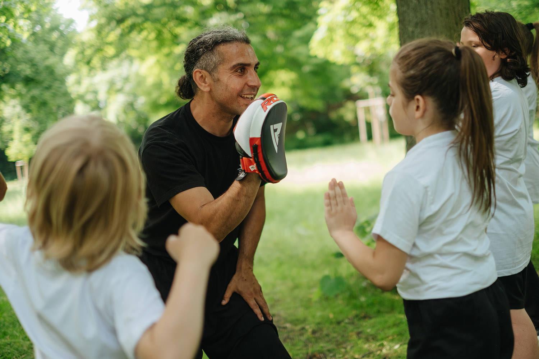Reportage Fotografie Kung Fu für Kinder